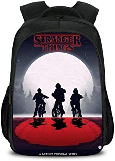 Stranger Things 3 Escolar Mochila Casual Stranger Things Bolsa para Hombre Port/átil Backpack para Ni/ños y Ni/ñas Unisex de Impresi/ón 3D Mochila Adolescentes P/úrpura,14 Mochila Stranger Things Mujer