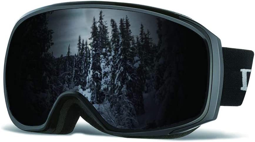OTG Snowboard Goggles with Dual Lens Goggles for Skiing Skating Winter Outdoor Sport Loowoko Unisex Ski Goggles for Men Women