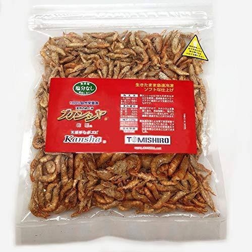 100%自然栄養食 カンシャ 乾蝦 天然手ながエビ 120gamazon参照画像