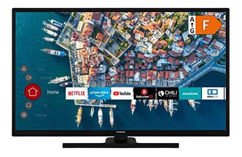 HITACHI F32E4100 80 cm / 32 Zoll Fernseher (Smart TV inkl. Prime Video/Netflix/YouTube, Full HD, Bluetooth, Works with Alexa, PVR-Ready, Triple-Tuner)