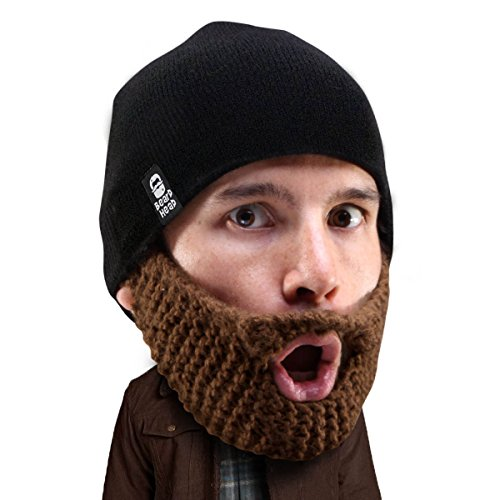 Funny apparel bearded hat beanie accessory gift