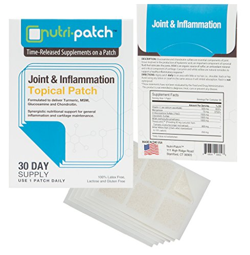 Joint & Inflammation Topical Nutrients in a Patch from NUTRI-PATCH®