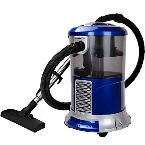 Syntrox Germany–WS de 2300W Poseidon Aspiradora con filtro de agua seco y húmedo aspirador