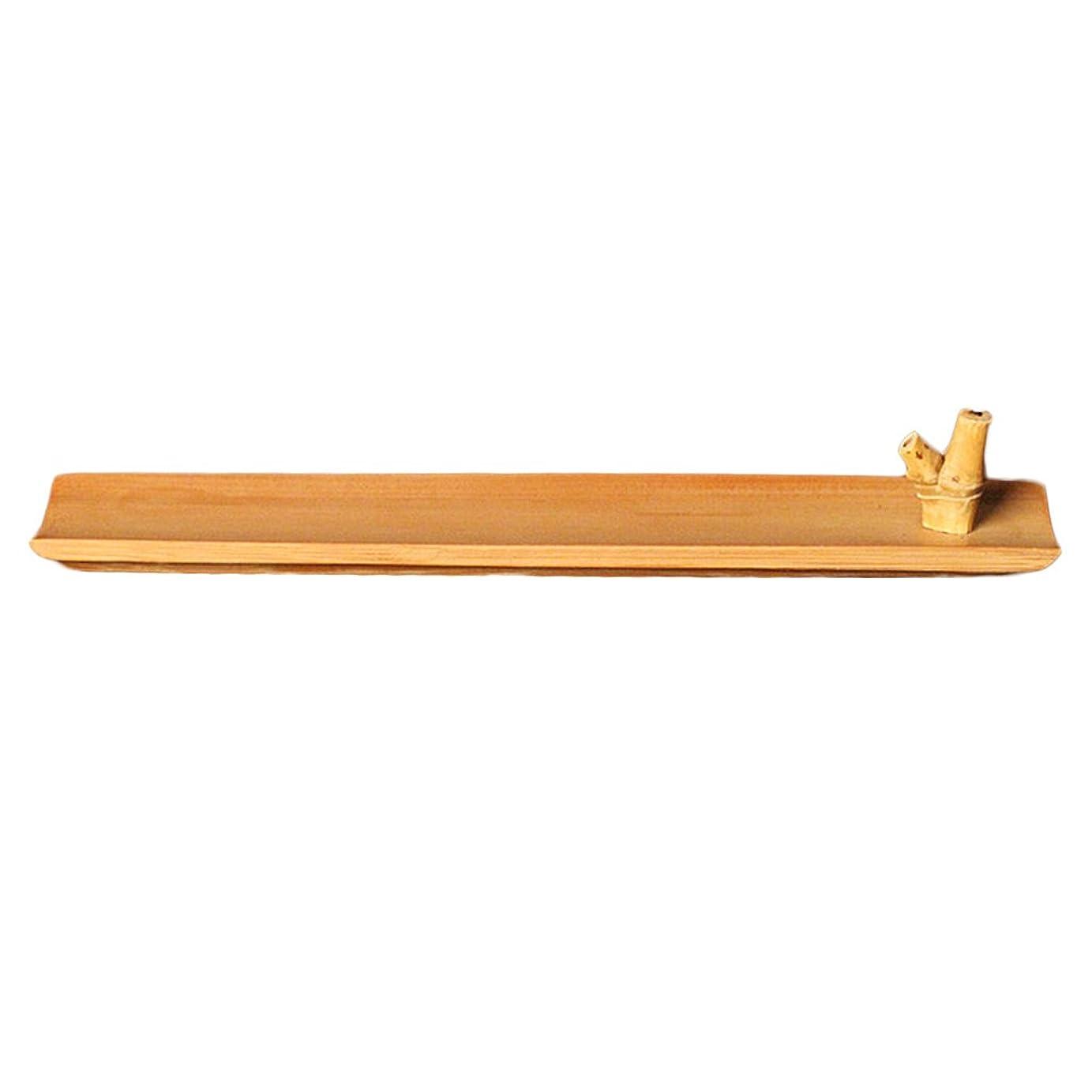 オーバーヘッドチェスをするあるHomyl 竹 お香立て スティック 香 ホルダー バーナースティック 手作り 工芸品 24センチメートル ヨガ、レイキ、マッサージ、太極拳、瞑想の愛好家に最適