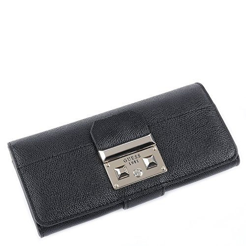 Guess Portemonnaie - Martine - File Clutch - Black
