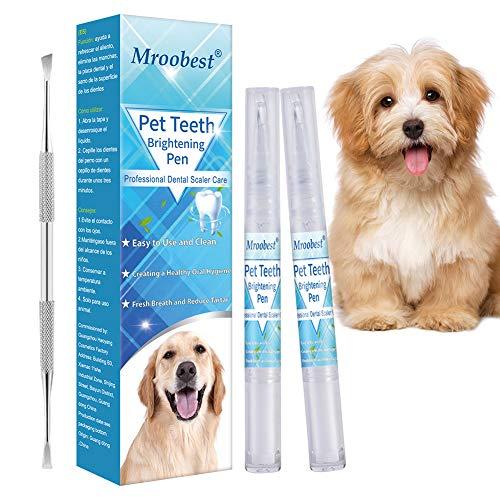 Pluma de Limpieza de Dientes de Mascotas, Kit de Limpieza de