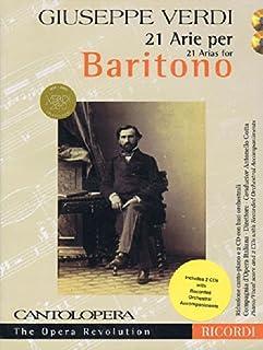 Verdi: 21 Arias for Baritone: Cantolopera Collection