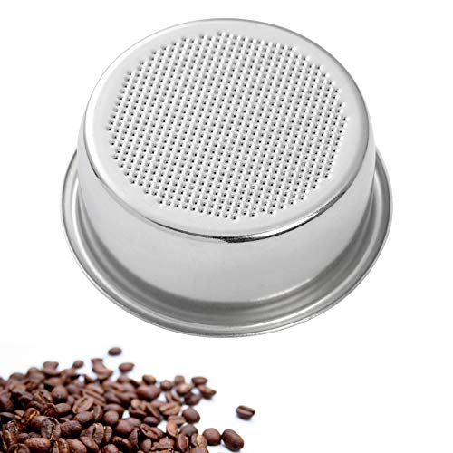 54mm Coffee Filter Basket for Breville Portafilter BES840XL, BES870XL, BES860XL Stainless Steel Double Cup Coffee Filter Basket Reusable Replacement