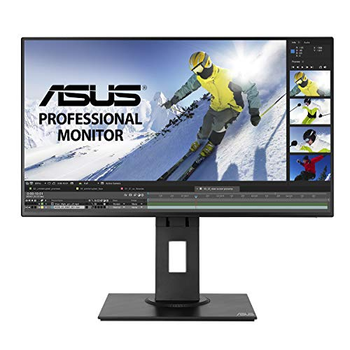 ASUS PB247Q 24 (23.8) Monitor Professionale, FHD, 1920 x 1080, IPS, 4-Side Frameless, 100% sRGB, DP, MiniDP, HDMI, DP Daisy-chaining, ΔE < 2