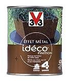 V33 Peinture fer effet métal Idéco finition, Acier corrodé, 0,25L