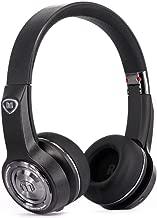 Monster Elements On-Ear Bluetooth Headphones-Black Slate, Cutting-edge over ear swipe controls, Stylish Design, 24 hrs listening (Renewed)