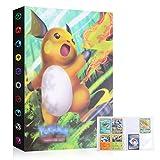 Colfeel Karten Album, Karten Halter, Karten Halter Album Ordner Buch, Pokemon Sammel GX EX Karten Album (Raichu) -