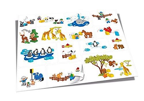 LEGO Duplo 5004402 - Wandsticker
