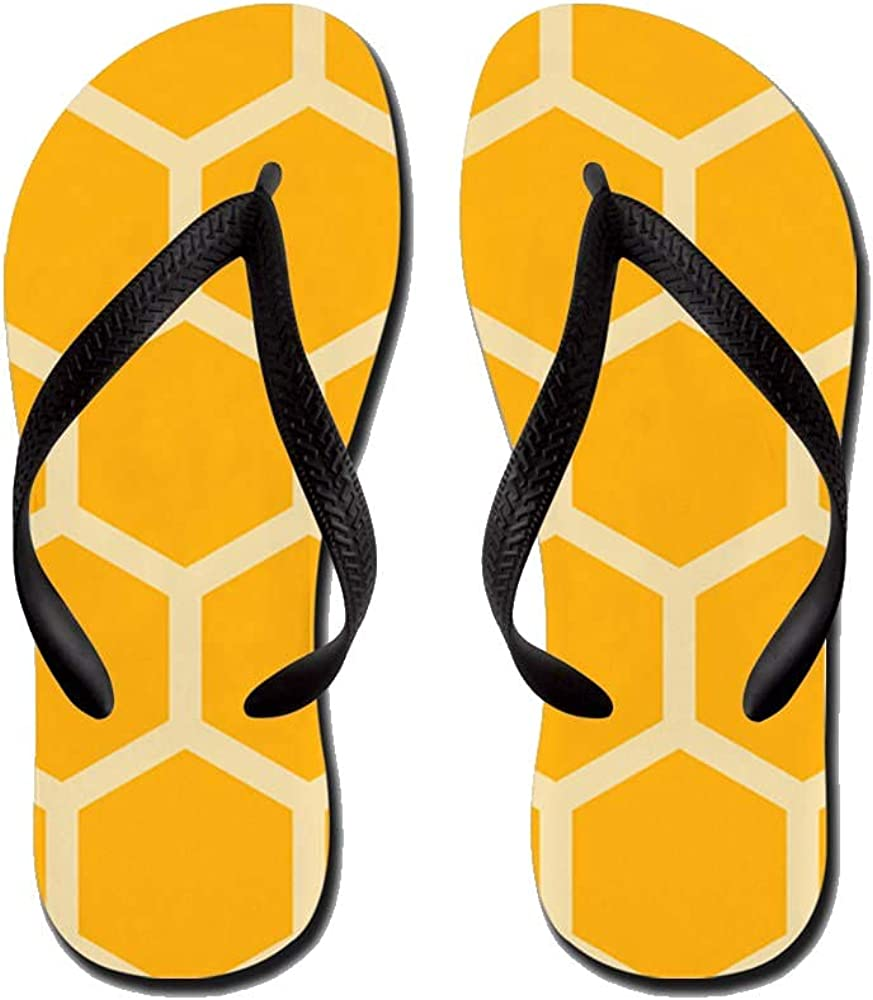 Honeycomb Hexagon Flip Flops Casual Comfortable Summer Beach Sandal For Men Women Kid Non Slip Sandals