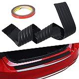 Universal 90cm Coffre de voiture Bande de protection pare-chocs en caoutchouc anticollision décoratifs Bande arrière