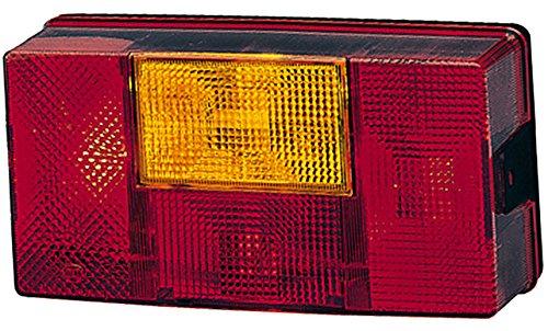 HELLA 2SD 006 040-141 Heckleuchte - P21W/R10W - 12V/24V - Anbau - Einbauort: rechts