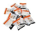 2J 1500 Filtres Cigarettes de Marque Francaise, Lot de 10 Sachets De 150 Filtres A Cigarette pour Rouler Vos Cigarette Slim ou...