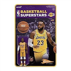 Super7 Los Angeles Lakers Lebron James Reaction Figure