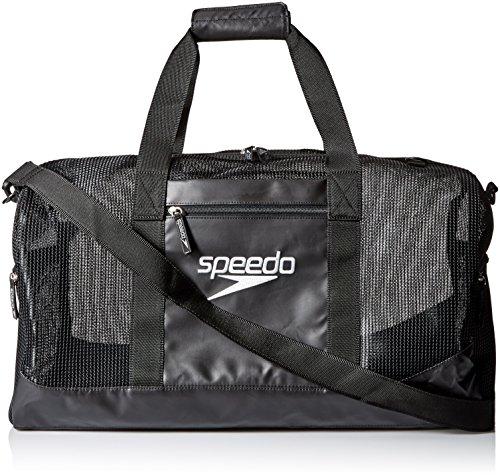 Speedo Ventilator Duffle Bag, Formula One/Black, 40-Liter
