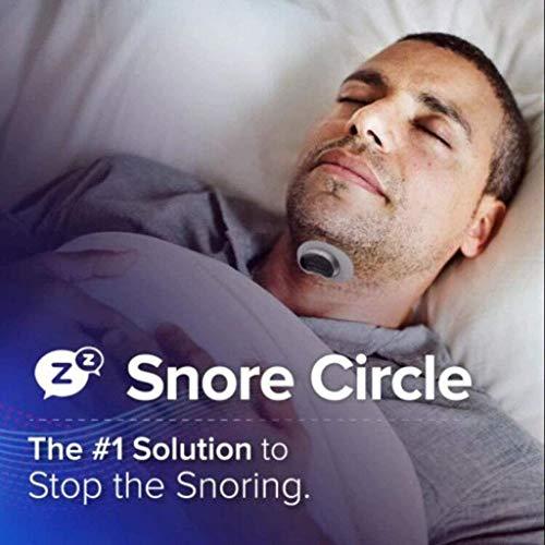 WZYJ Dispositivos Stop Snore, Sleep Aid, Estimulador Muscular Snore Stopper - Mujeres y Hombres, para Aviones, oficinas, ferrocarriles de Alta Velocidad