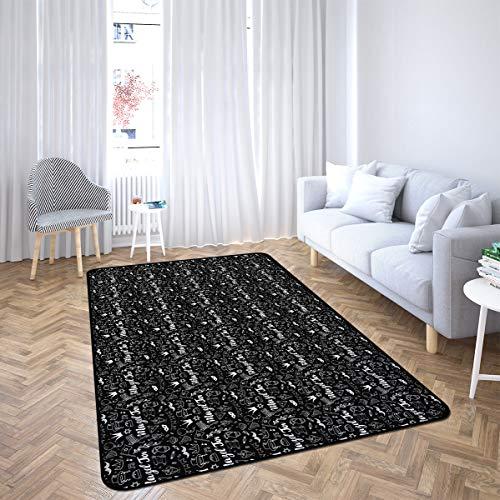 Mazel Tov Jewish Holiday Hand Area Rug Rugs for Living Room Bedroom 5'x7'