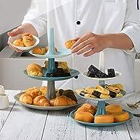 TAIPPAN フルーツプレート デザートケーキスタンド 取り外し可能トレイ フルーツ菓子 小物入れ 結婚式 誕生日 パーティー用