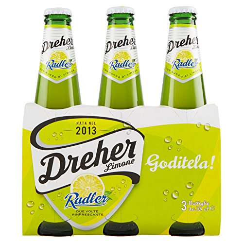 Dreher - Radler, Birra con Succo di Limone - 3x330 ml