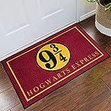 FloorMatShop Harry Potter Hogwarts Express Platform 9 3/4 Novelty Carpet Nylon Indoor Welcome Entrance Mat Approx. 2' x 3' Surged Edge Made in The USA