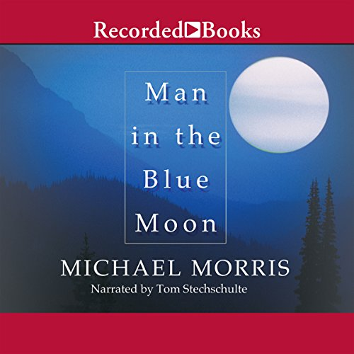 Man in the Blue Moon audiobook cover art