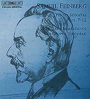 フェインベルク:ピアノソナタ集 Vol.2 [Import]