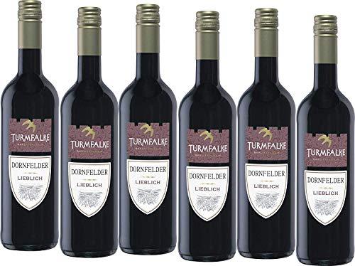 Turmfalke Dornfelder Qualitätswein lieblich 2016(6 x 0.75 l)