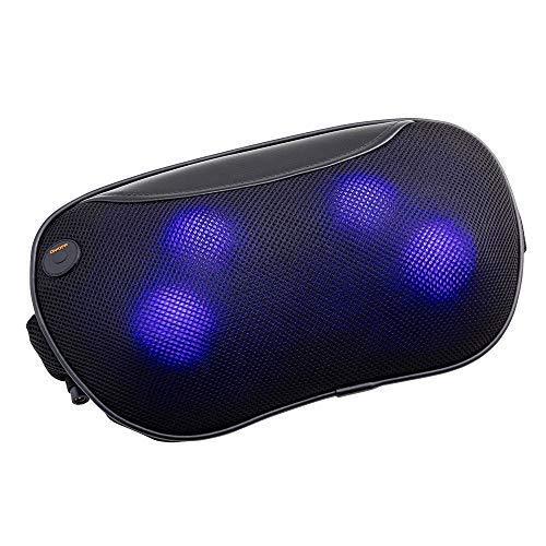 ドクターエア 3DマッサージピローS (コードレス) MP-05 (ブラック) | マッサージクッション 管理医療機器認定製品