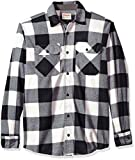 Wrangler Authentics Men's Long Sleeve Plaid Fleece Shirt, Birch...