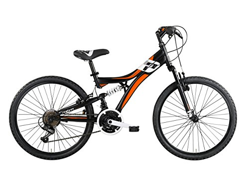 MBM 436/18 Indy, Fat Bike da Montagna Unisex Bambini, Nero A01, Taglia Unica