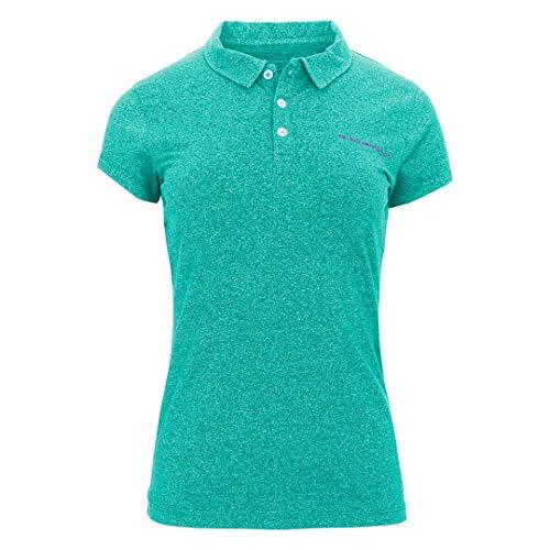 Trangoworld Ulia Polo Femme, Vert Turquoise, M