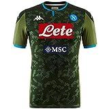 SSC Napoli Réplica de Camiseta de Segunda Equipación Temporada 2019/2020, Verde, XL