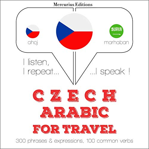Couverture de Czech - Arabic. For travel