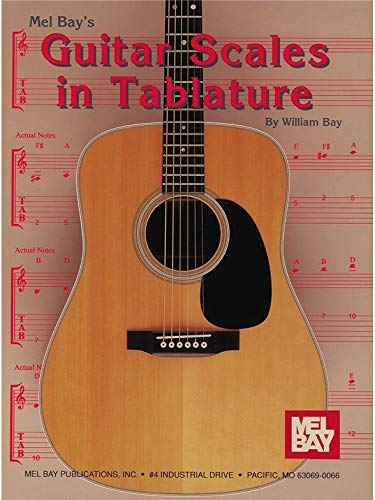 Guitar Scales in Tablature. Für Gitarre, Gitarrentabulatur