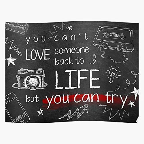 Osirisshoes Artwork Netflix R3Asons Teens 13 Why Drama Teen Reasons Show Shows for Th1Rteen Tv Geschenk für Wohnkultur Wandkunst drucken Poster 11.7 x 16.5 inch