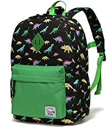 🦖UNIQUE DESIGN:Inspired by the artwork of a loving artist, our exclusive collection channels her spontaneous use of color and childlike sense of wonder. The collection of the kids backpack captures the spirits of imagination and fashion which inspire...