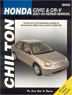 Honda Civic and CRV, 2001-04 (Haynes Repair Manuals)