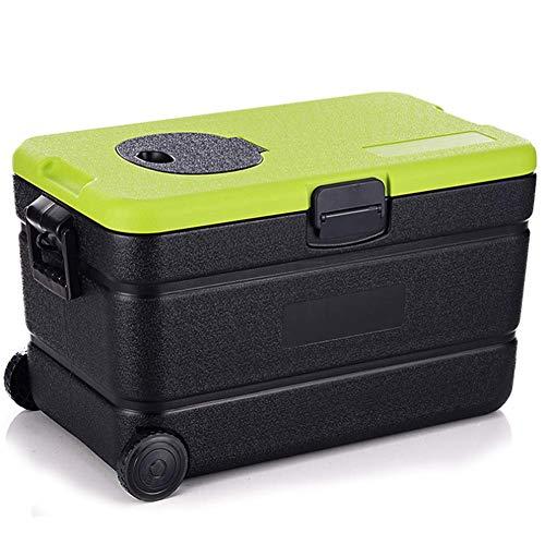 AGQLT Koelbox Outdoor Fresh Box 60L Auto PU Koelbox Medische Drug Koelkast Koude Ketting Transport Box 67,5 * 38,5 * 38CM