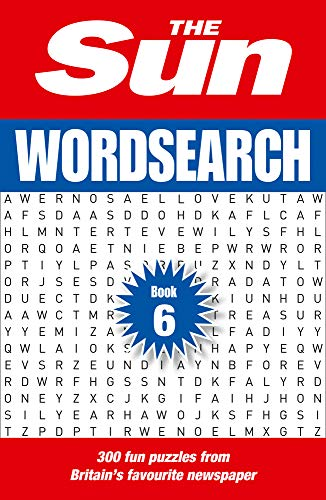 The Sun Wordsearch Book 6: 300 Fun Puzzles From Britain's Favourite Newspaper
