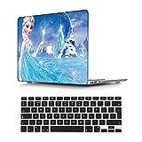 NEWCENT Nuevo MacBook Air 13' Funda,Plástico Ultra Delgado Ligero Cáscara Cubierta EU Teclado Cubierta para MacBook Air 13 Pulgadas con Retina Display Touch ID 2018 Versión(Modelo:A1932),Retrato 54