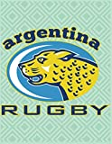 ARGENTINA RUGBY: Blank lined notebooks are great for writing, recording thoughts, memories.Beautiful gift idea for kids children girls and boys