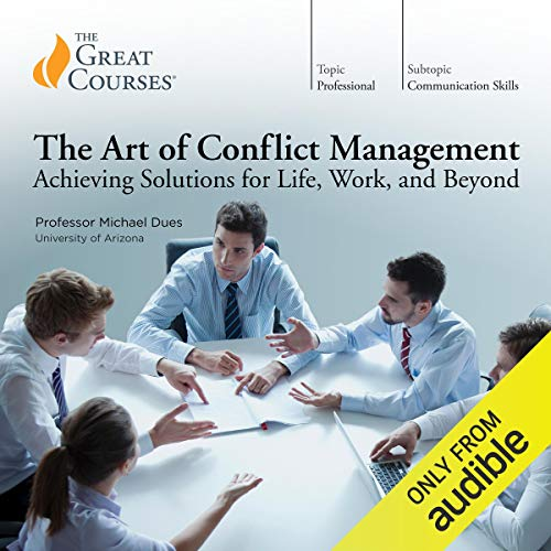 『The Art of Conflict Management: Achieving Solutions for Life, Work, and Beyond』のカバーアート