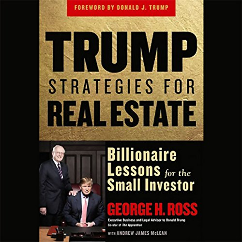 Trump Strategies for Real Estate audiobook cover art