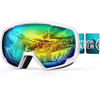 OutdoorMaster Kids Ski Goggles Snowboard Goggles - Youth Snow Goggles