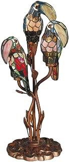 tiffany parrot lamp