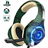 PS4 Gaming Headset with mic, Beexcellent Xbox...